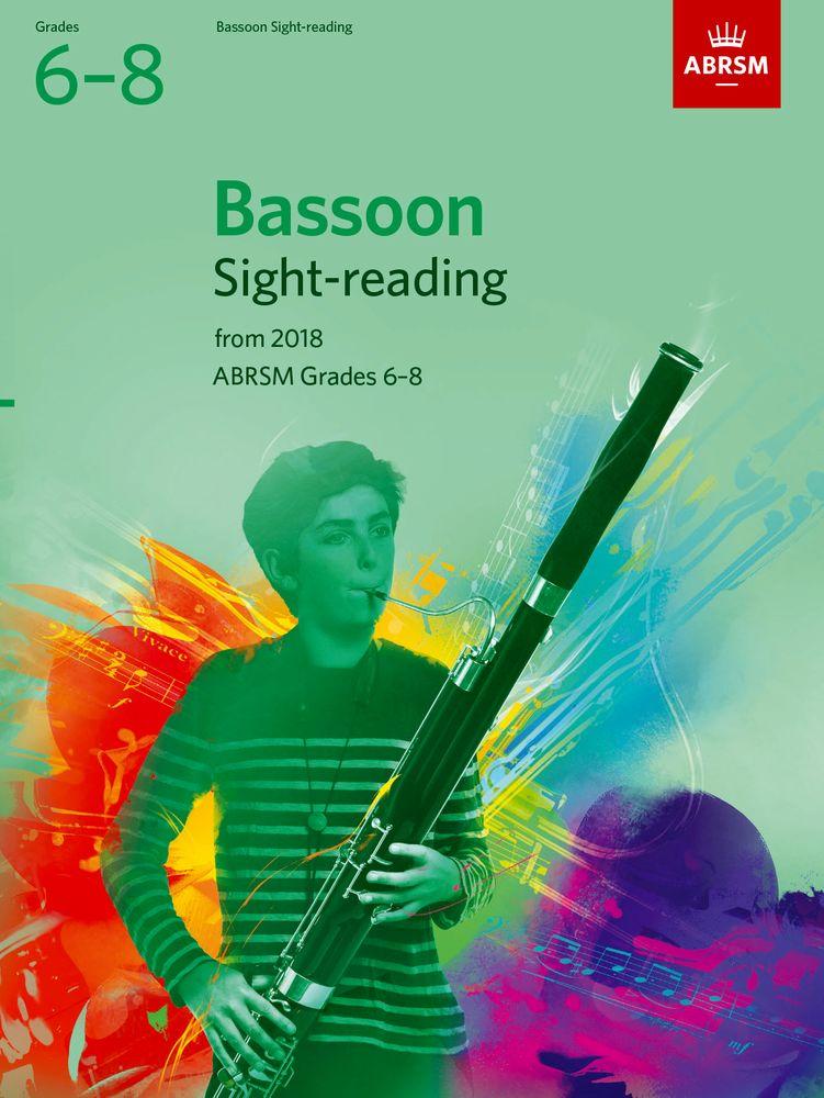 Bassoon Sight-Reading Tests Grades 6-8: Bassoon: Instrumental Tutor