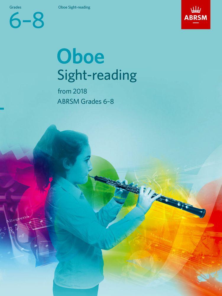 Oboe Sight-Reading Tests Grades 6-8: Oboe: Instrumental Tutor