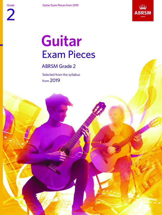 Guitar Exam Pieces From 2019 - Grade 2 (Book): Guitar: Instrumental Tutor