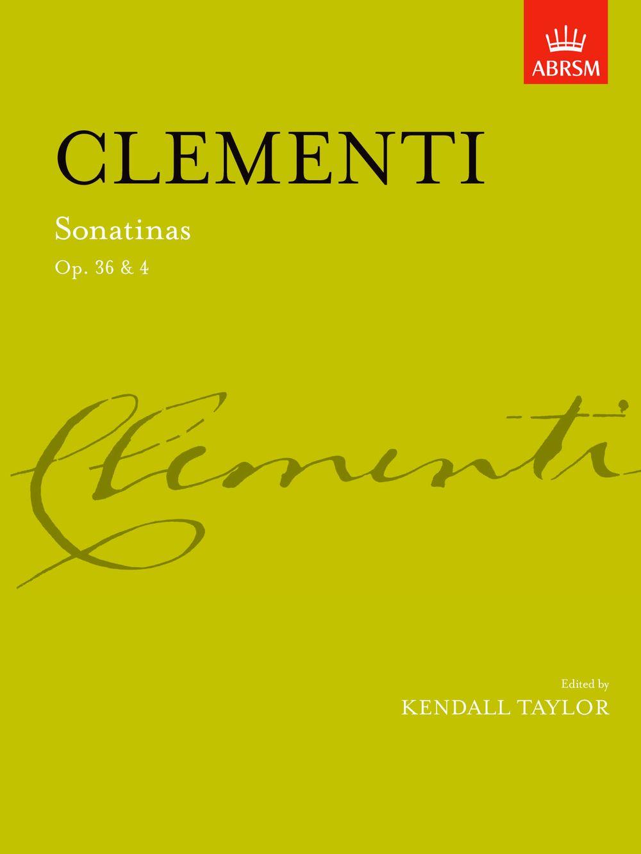 Muzio Clementi: Sonatinas  complete Op. 36 & Op. 4: Piano: Instrumental Album