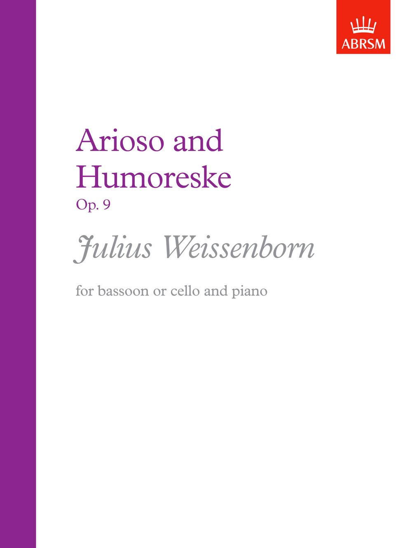 Julius Weissenborn: Arioso and Humoreske  Op. 9: Bassoon: Instrumental Work