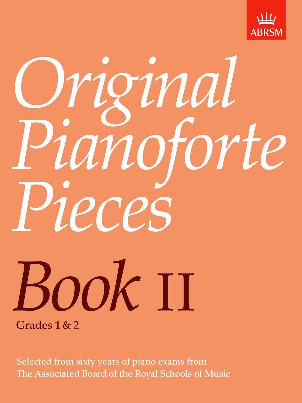 Original Pianoforte Pieces  Book II: Piano: Instrumental Album