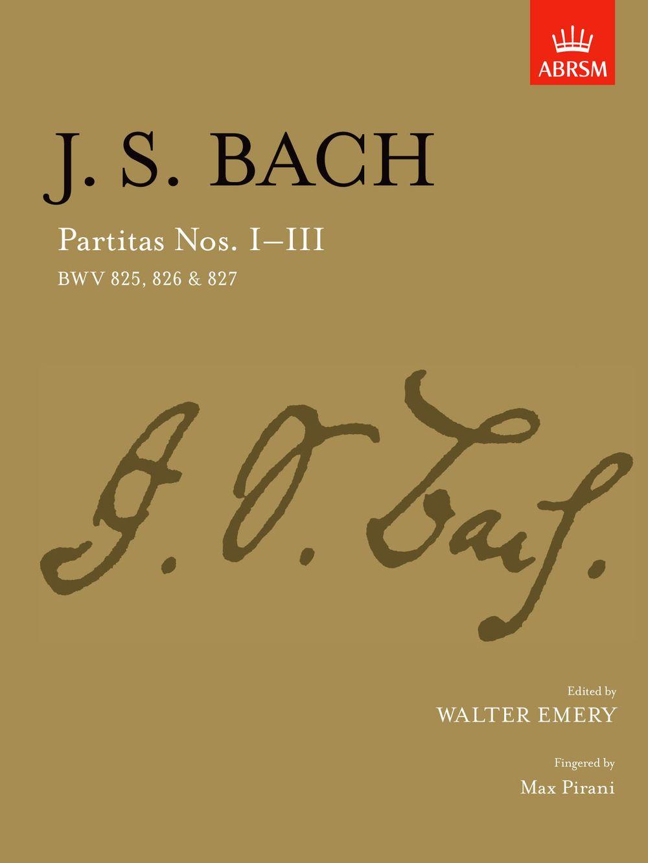Johann Sebastian Bach: Partitas - Nos.I-III: Piano: Instrumental Album