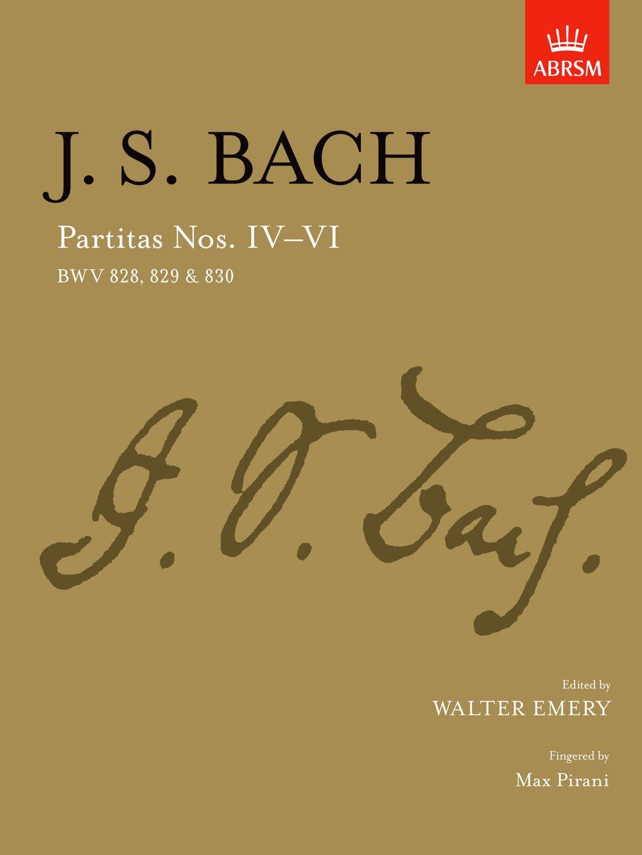 Johann Sebastian Bach: Partitas - Nos. IV-VI: Piano: Instrumental Album
