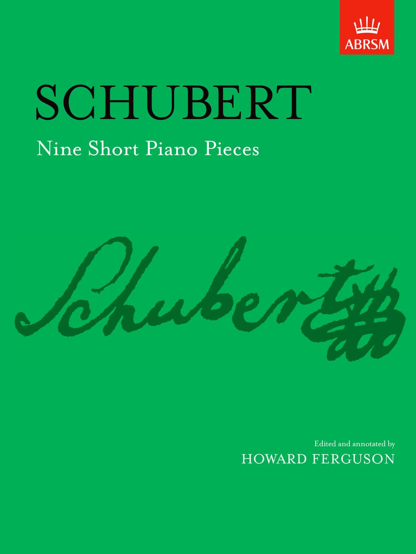 Franz Schubert: Nine Short Piano Pieces: Piano: Instrumental Album