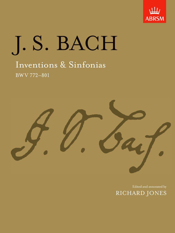 Johann Sebastian Bach: Inventions And Sinfonias Piano Solo: Piano: Instrumental