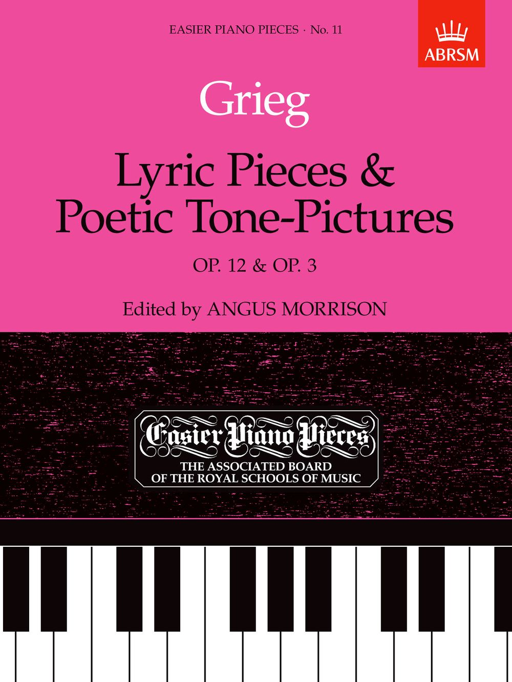 Edvard Grieg: Lyric Pieces And Poetic Tone-Pictures Op.12/Op.3: Piano:
