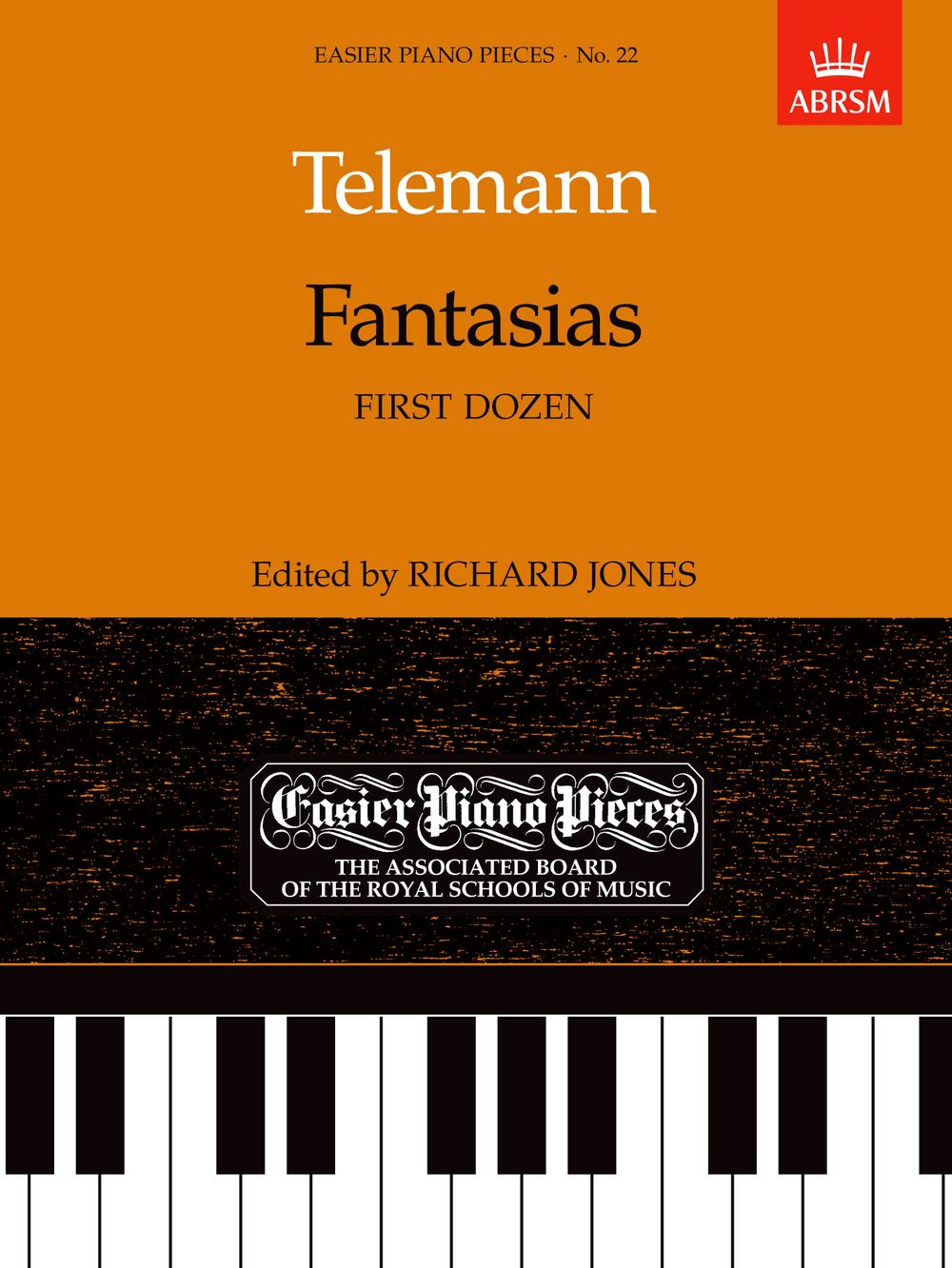 Georg Philipp Telemann: Fantasias: Piano: Instrumental Album