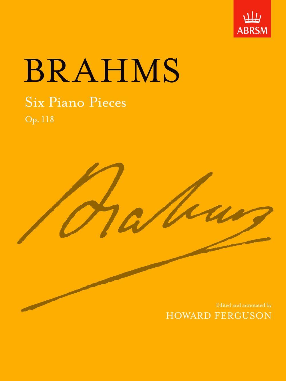 Johannes Brahms: Six Piano Pieces Op.118: Piano: Instrumental Work