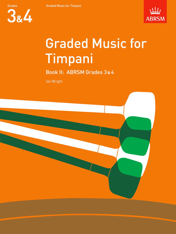 Ian Wright: Graded Music for Timpani  Book II: Timpani: Instrumental Album