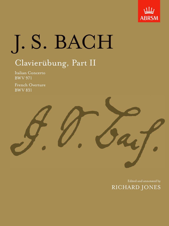 Johann Sebastian Bach: Clavierübung Part II: Piano: Instrumental Work
