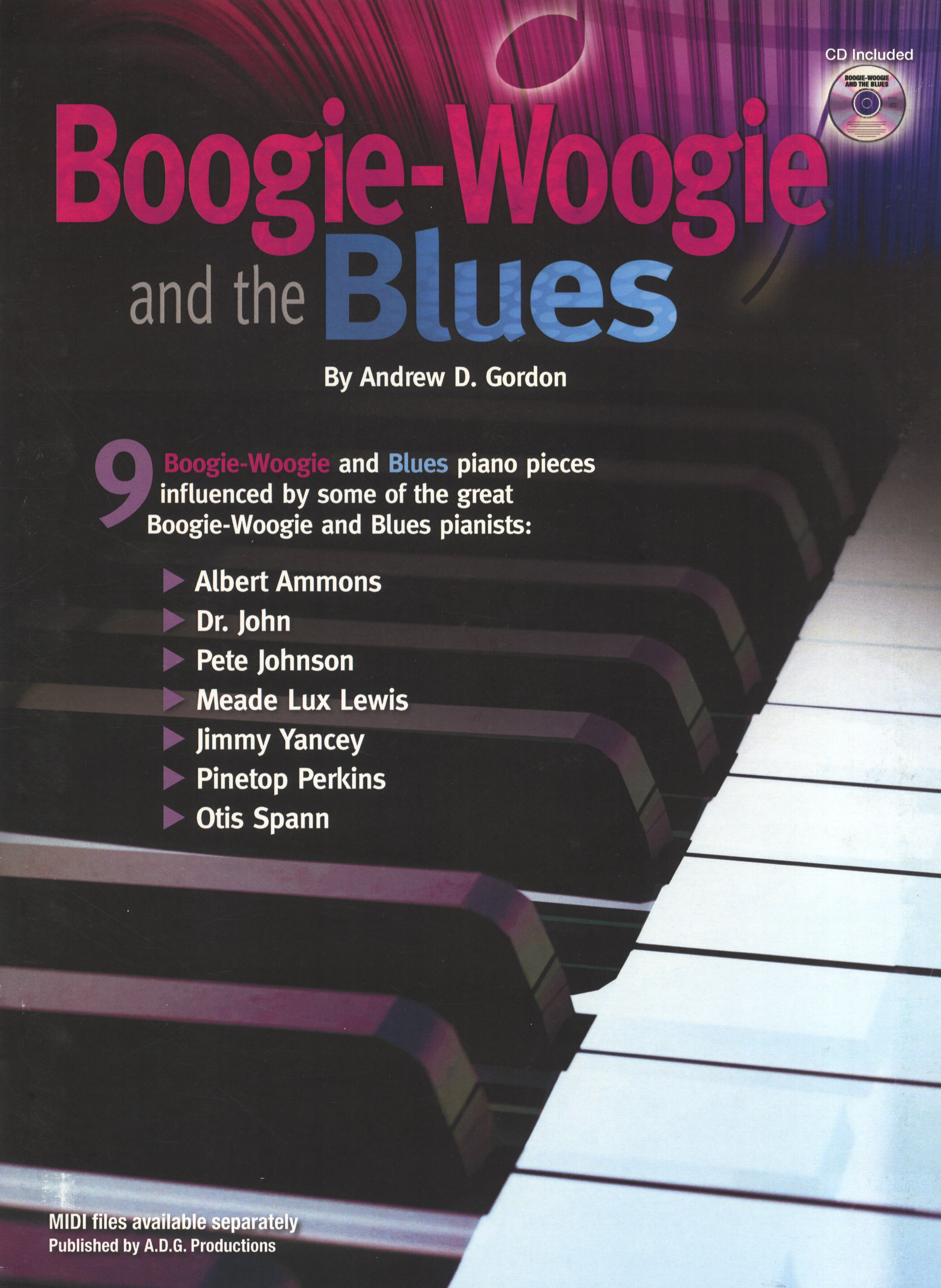 Boogie Woogie & The Blues: Piano: Instrumental Album