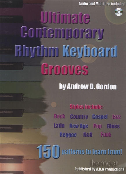 Andrew D. Gordon: Ultimate Contemporary Rhythm Keyboard Grooves: Electric