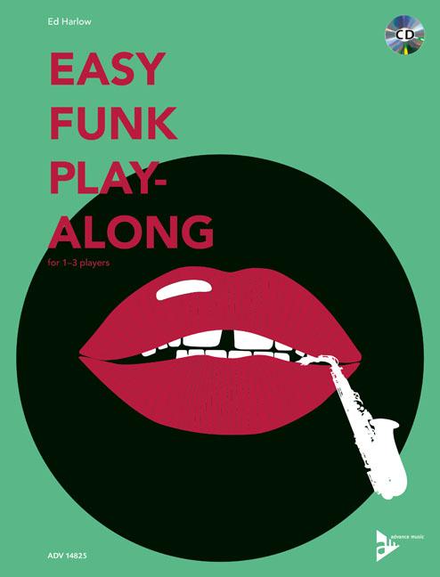 Ed Harlow: Easy Funk Play-Along: Saxophone Ensemble: Instrumental Work