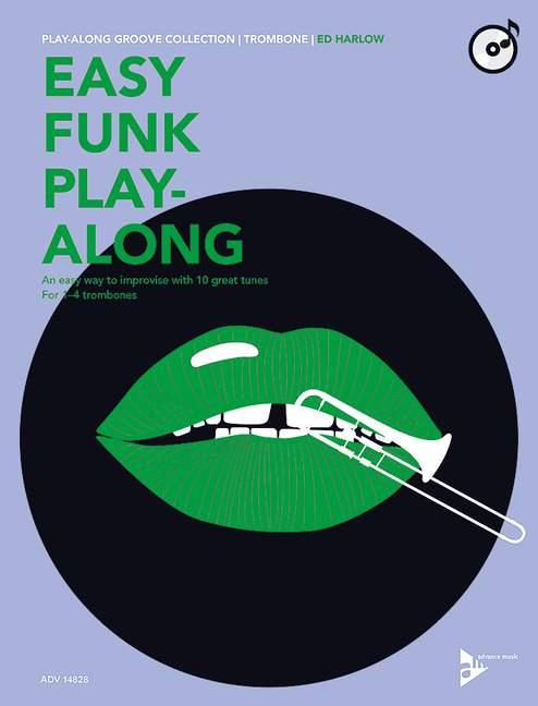 Ed Harlow: Easy Funk Play-Along: Trombone: Instrumental Work