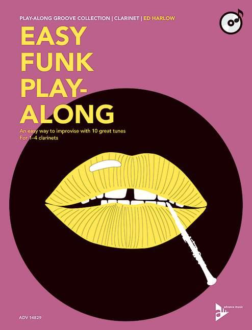 Ed Harlow: Easy Funk Play-Along: Clarinet: Instrumental Work
