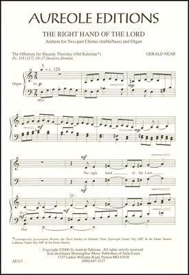 Gerald Near: Die Wunderinsel: 2-Part Choir: Vocal Score