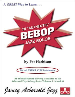 Jamey Aebersold: Autentic Bepop Solos (20): Instrumental Album