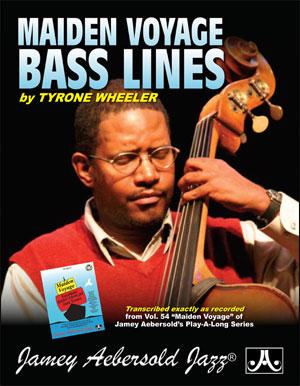 Jamey Aebersold: Bass Lines from Volume 54 Maiden Voyage: Bass Guitar: