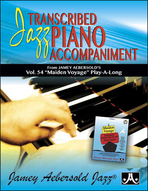 Jamey Aebersold: Jazz Piano Voicings From Volume 54 Maiden Voyage: Piano: