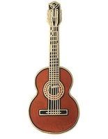 Mini Pin - Classical Guitar - Spruce: Jewellery