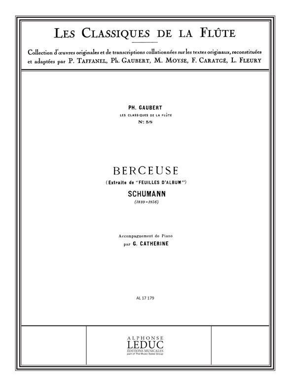 Robert Schumann: Schumann: Berceuse (extr. de