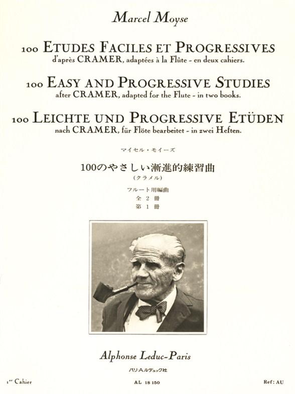 Marcel Moyse: 100 Etudes Faciles et Progressives 1: Flute: Study