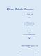 Henriette Puig-Roger: Quatre Ballade Françaises For Voice And Piano: Voice: