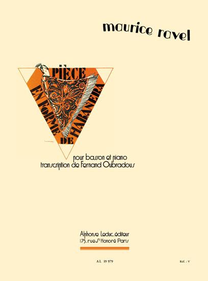 Maurice Ravel: Pice en Forme de Habanera (Bassoon/Piano)