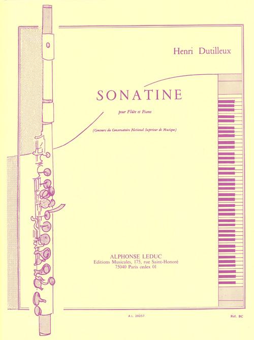 Henri Dutilleux: Sonatine: Flute: Instrumental Work