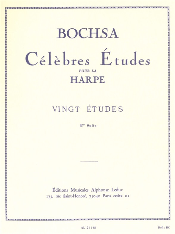 Nicolas-Charles Bochsa: Celebrated Studies for Harp (Suite 1)