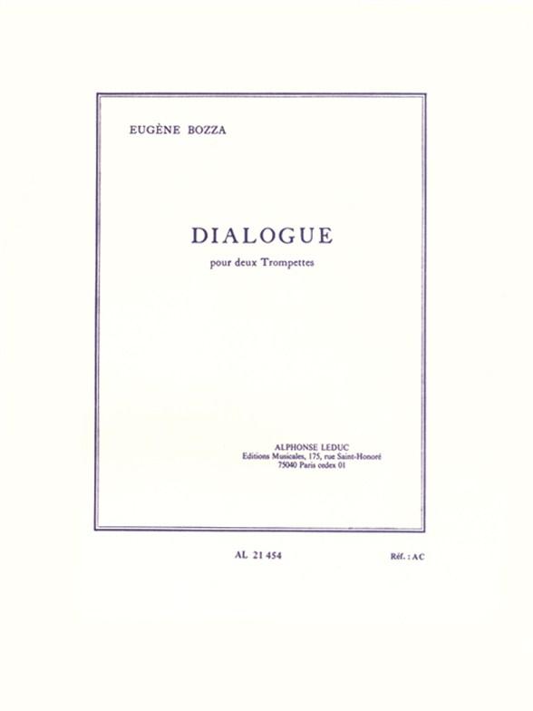 Eugène Bozza: Dialogue For Two Trumpets: Trumpet: Instrumental Work