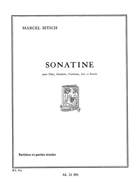 Marcel Bitsch: Marcel Bitsch: Sonatine: Wind Ensemble: Score and Parts