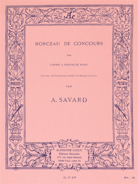 Augustin-Marie Savard: Morceau de Concours: Trumpet: Instrumental Work