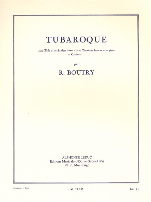 Roger Boutry: Tubaroque: Tuba: Instrumental Work