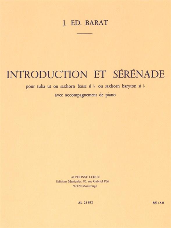 Jacques Barat: Introduction Et Serenade: Tuba: Instrumental Work