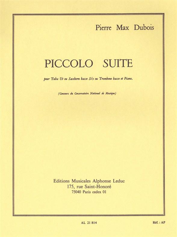 Pierre-Max Dubois: Piccolo Suite: Tuba: Instrumental Work