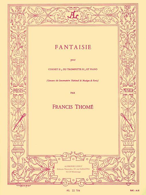 Francis Thomé: Fantaisie: Trumpet: Instrumental Work