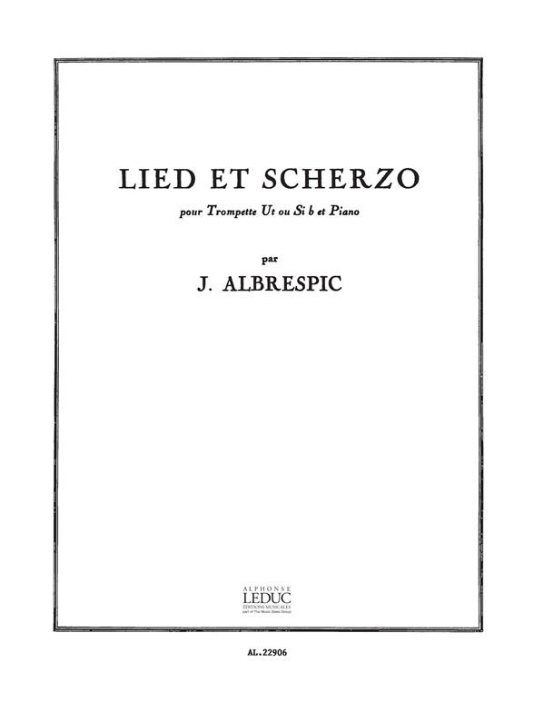 Albrespic: Lied Et Scherzo: Trumpet: Instrumental Work