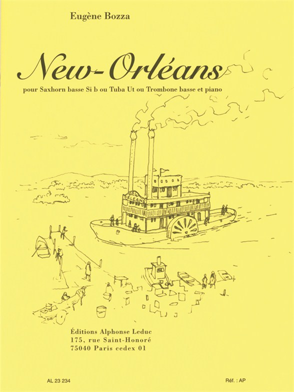 Eugène Bozza: New Orleans: Ensemble: Instrumental Work
