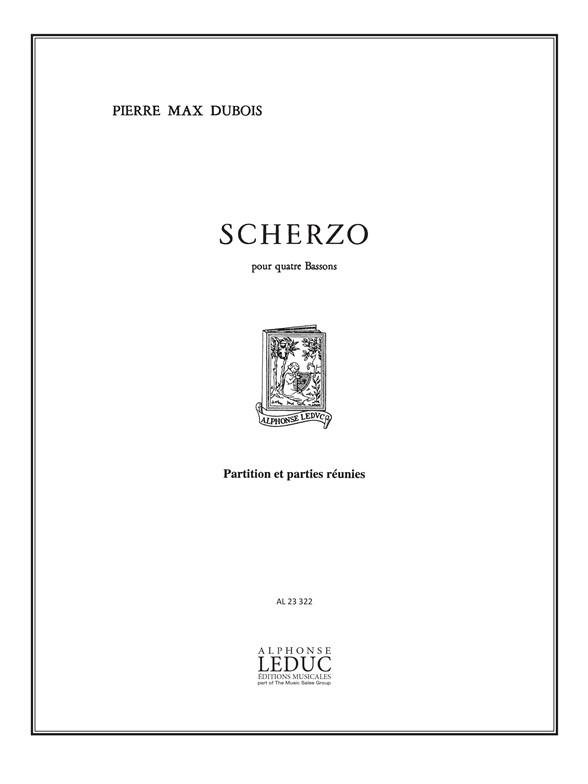 Pierre-Max Dubois: Scherzo: Bassoon Ensemble: Score and Parts