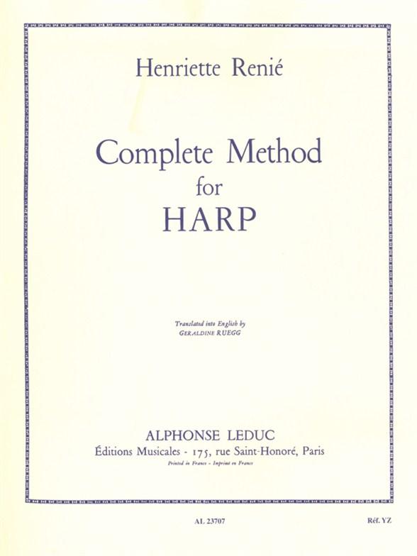 Henriette Renié: Complete Method for Harp Vol. 1: Harp: Instrumental Tutor