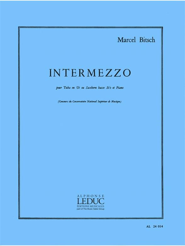 Marcel Bitsch: Intermezzo: Tuba: Instrumental Work