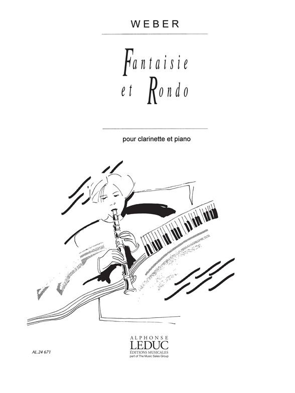 Carl Maria von Weber: Fantaisie Et Rondo: Clarinet: Score