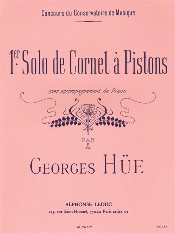 Georges Hüe: Premier Solo De Cornet À Pistons: Trumpet: Instrumental Work