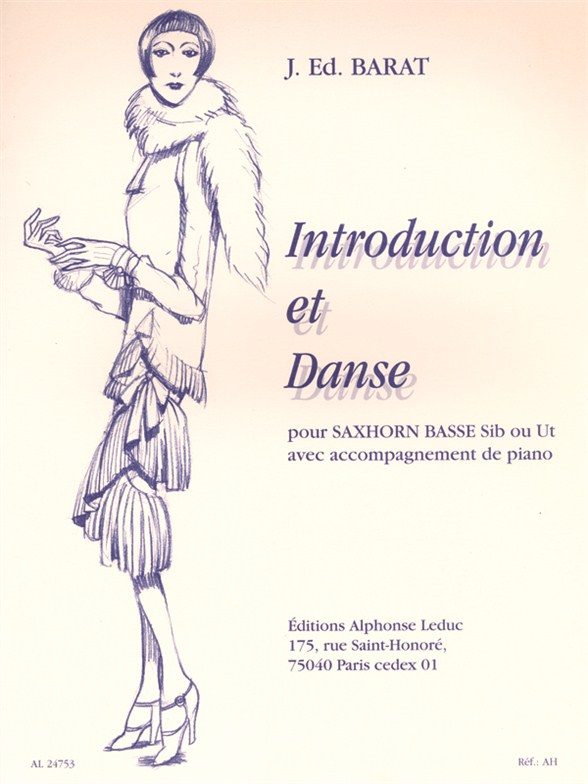 Jaques Ed. Barat: Introduction And Danse: Tuba: Instrumental Work