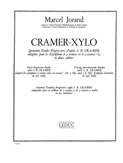 Marcel Jorand: Cramer-Xylo Vol. 2 Etudes nos. 26 - 40: Percussion: Score