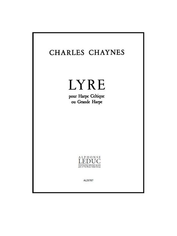 Charles Chaynes: Lyre: Harp: Score
