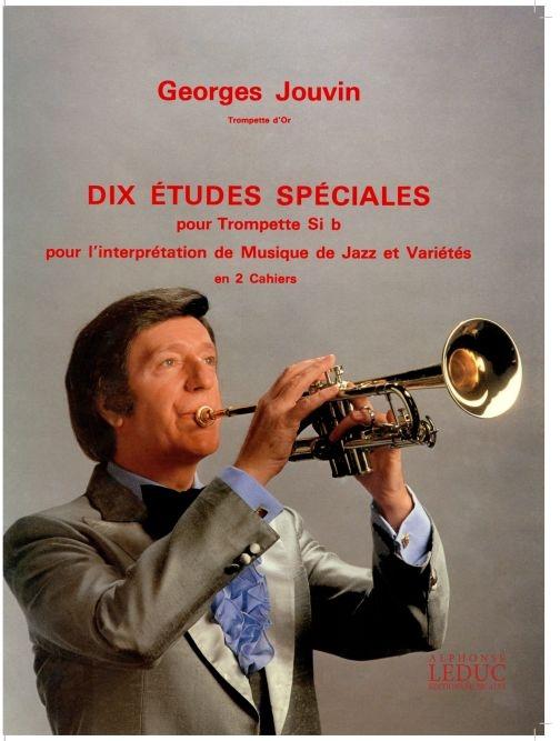 Georges Jouvin: 10 Etudes spéciales Vol.2: Trumpet: Score