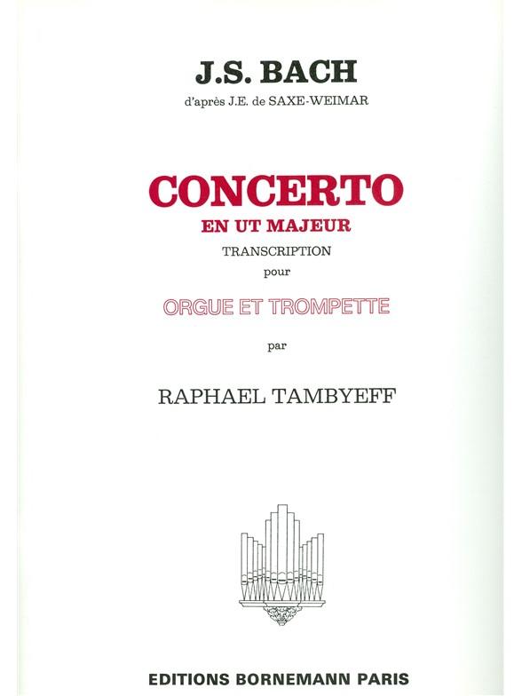 Johann Sebastian Bach: Concerto En Ut Majeur: Trumpet: Instrumental Work